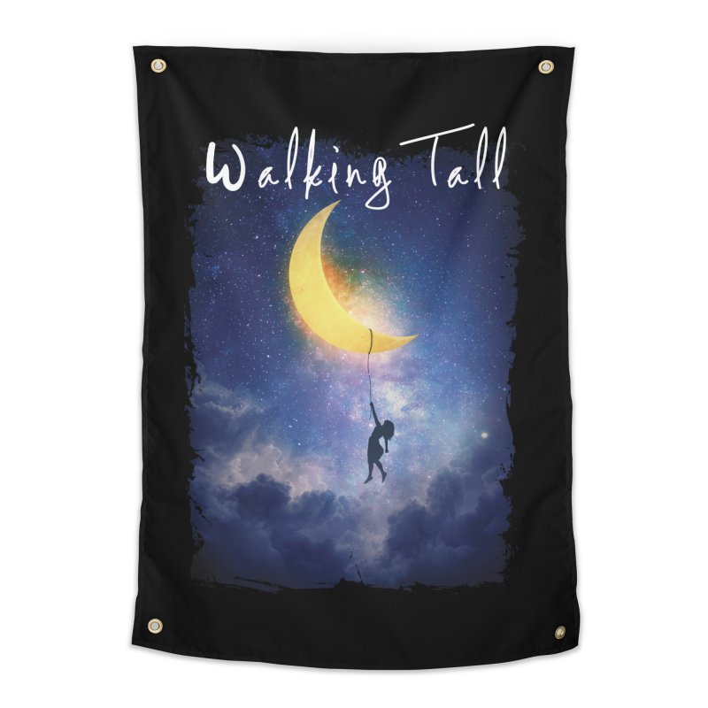 Moon And The Stars Home Tapestry by Walking Tall - Band Merch Shop