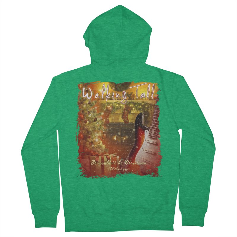 It Wouldn't Be Christmas (Without You) Women's Zip-Up Hoody by Walking Tall - Band Merch Shop