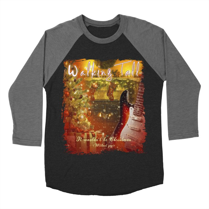 It Wouldn't Be Christmas (Without You) Women's Baseball Triblend Longsleeve T-Shirt by Walking Tall - Band Merch Shop