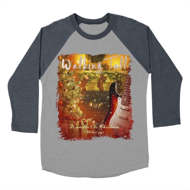 It Wouldn't Be Christmas (Without You) Men's Baseball Triblend Longsleeve T-Shirt by Walking Tall - Band Merch Shop