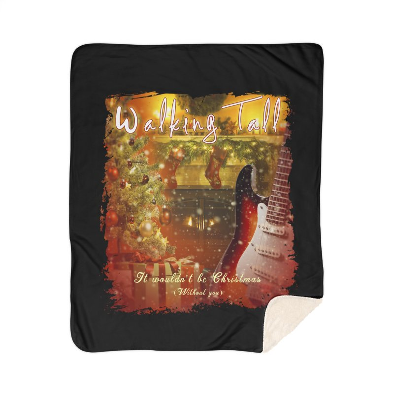 It Wouldn't Be Christmas (Without You) Home Sherpa Blanket Blanket by Walking Tall - Band Merch Shop