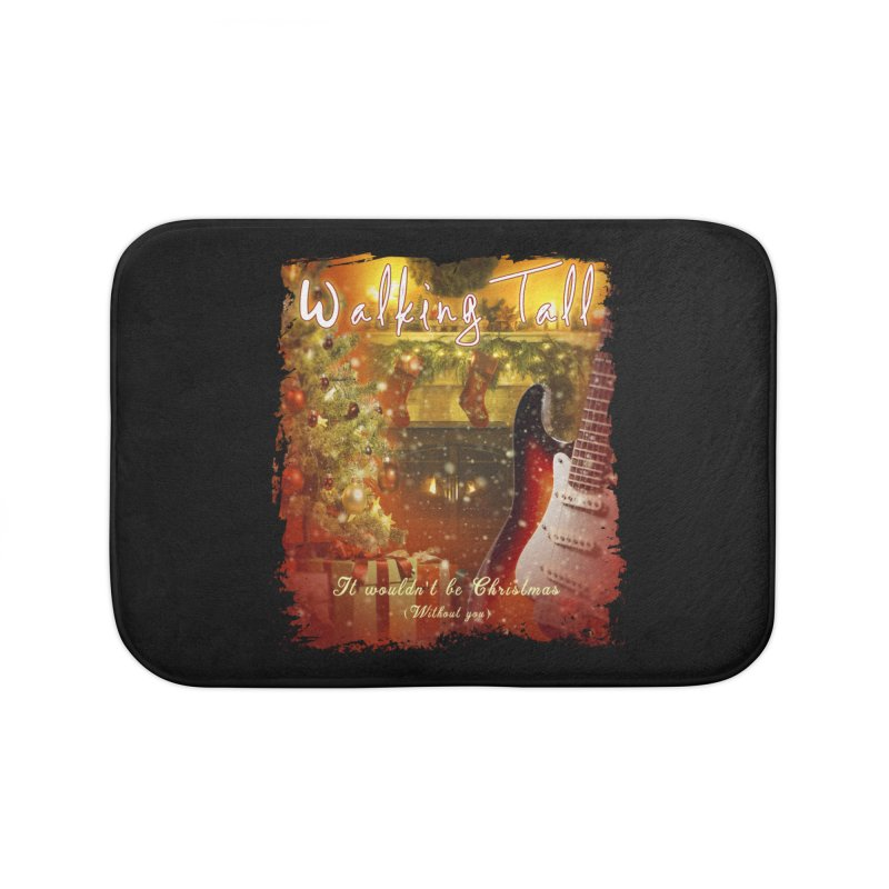 It Wouldn't Be Christmas (Without You) Home Bath Mat by Walking Tall - Band Merch Shop