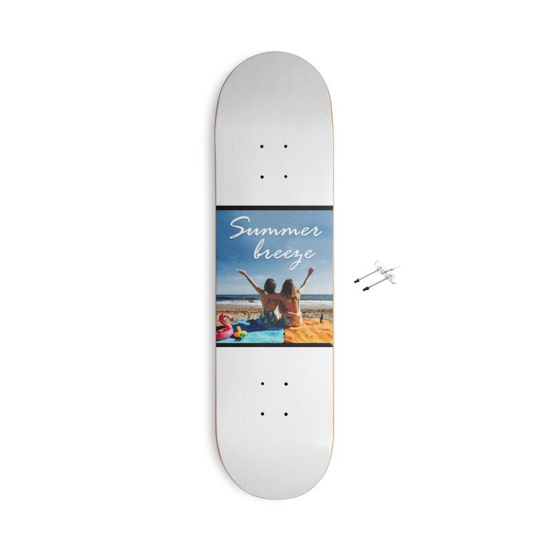 Summer Breeze Accessories Skateboard by Walking Tall - Band Merch Shop