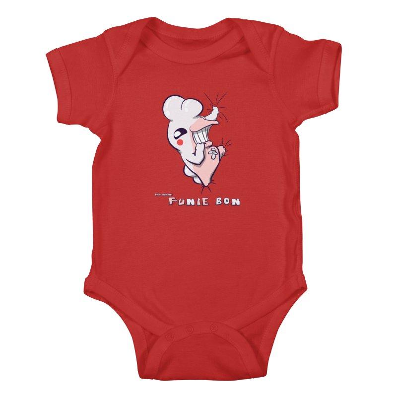 Body Buddies// Funie Bon Kids Baby Bodysuit by Wally's Shirt Shop