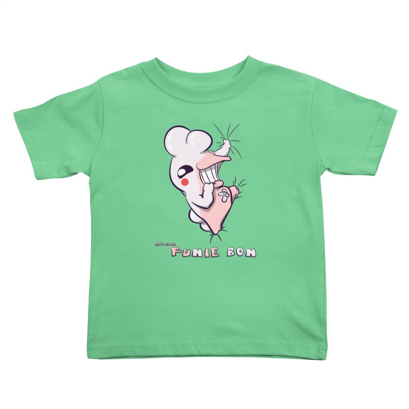 Body Buddies// Funie Bon Kids Toddler T-Shirt by Wally's Shirt Shop
