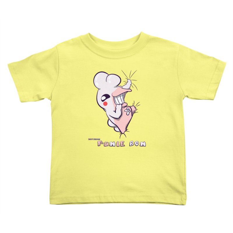 Body Buddies// Funie Bon Kids Toddler T-Shirt by Wally's Shirt Shop