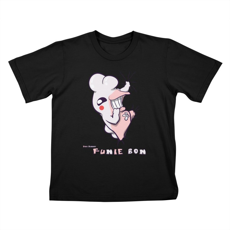 Body Buddies// Funie Bon Kids T-Shirt by Wally's Shirt Shop