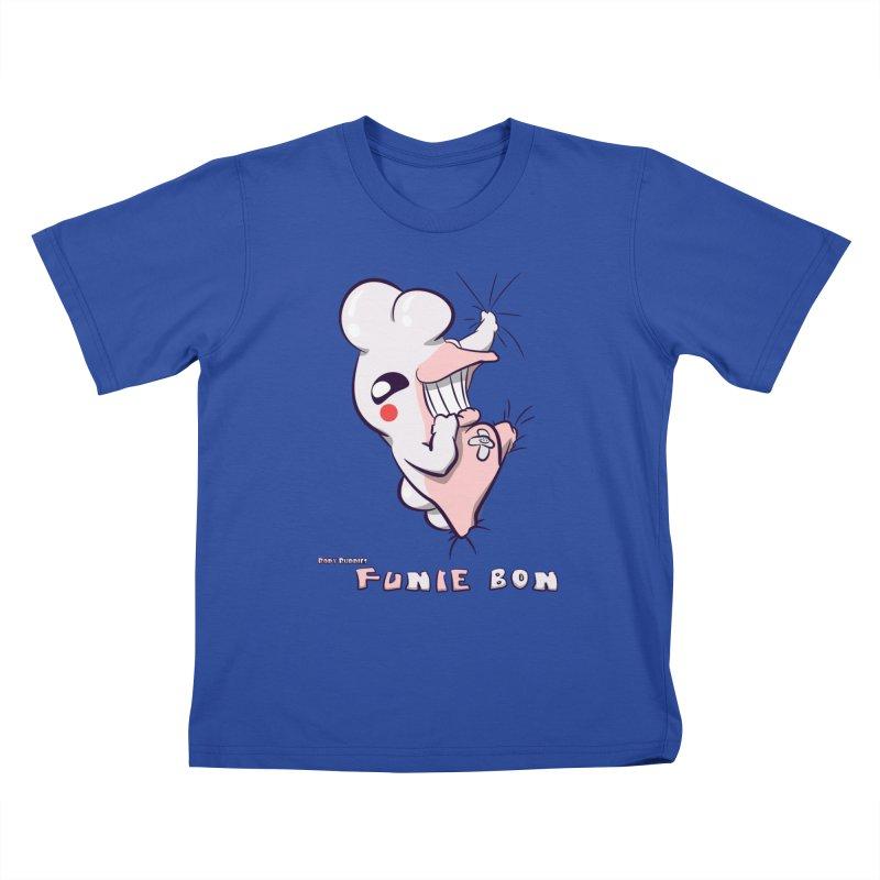 Body Buddies// Funie Bon Kids T-shirt by Wally's Shirt Shop