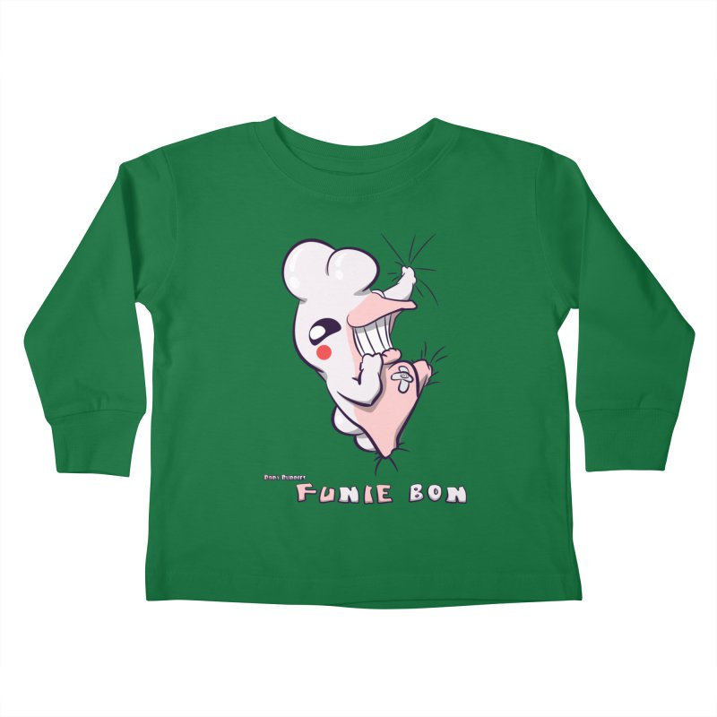 Body Buddies// Funie Bon Kids Toddler Longsleeve T-Shirt by Wally's Shirt Shop