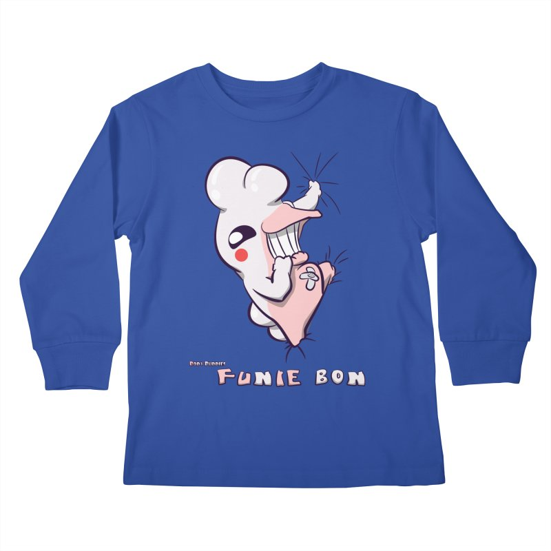 Body Buddies// Funie Bon Kids Longsleeve T-Shirt by Wally's Shirt Shop