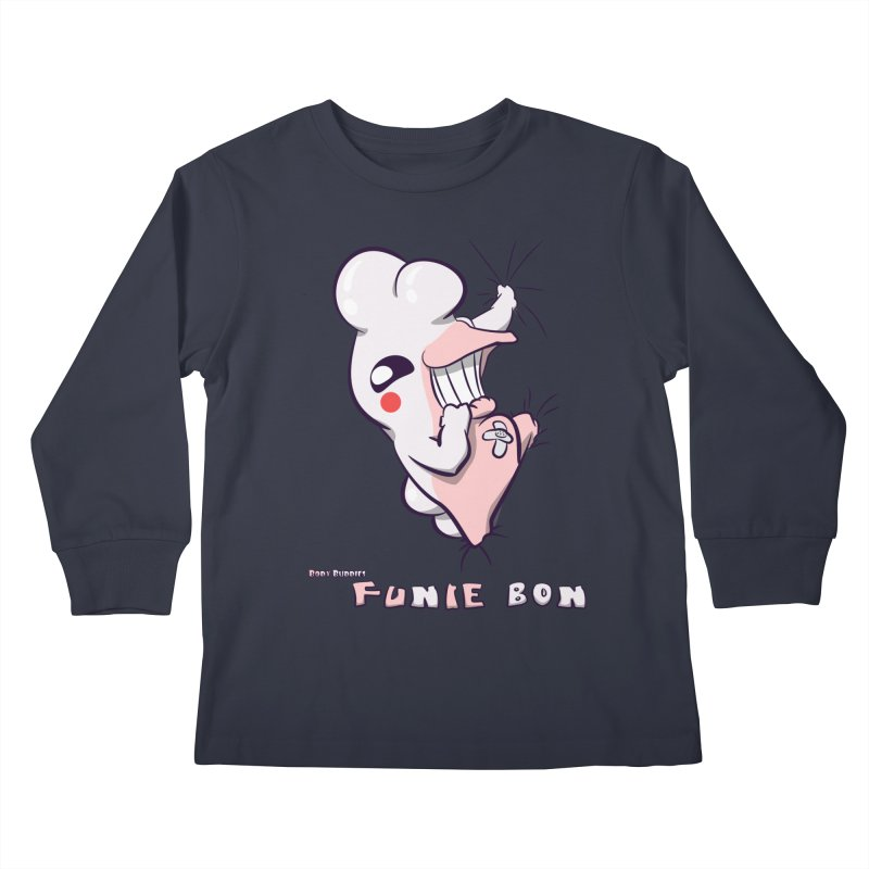 Body Buddies// Funie Bon Kids Longsleeve T-Shirt by Wally's Shirt Shop