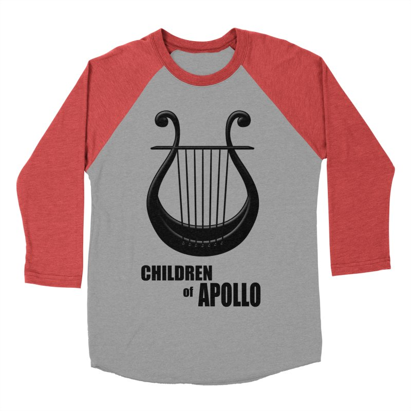 Apollonian Women's Baseball Triblend T-Shirt by Wally's Shirt Shop
