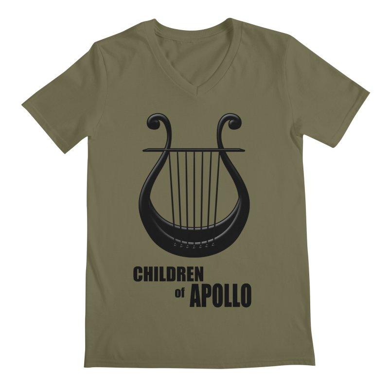 Apollonian Men's V-Neck by Wally's Shirt Shop