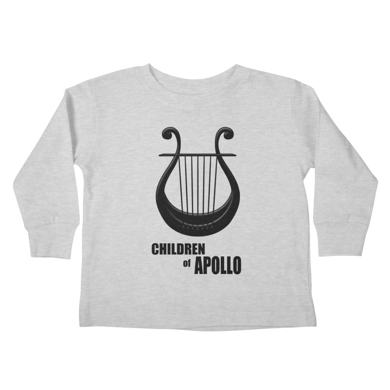 Apollonian Kids Toddler Longsleeve T-Shirt by Wally's Shirt Shop