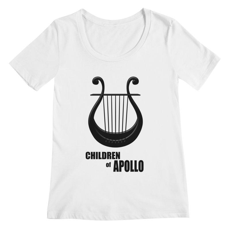 Apollonian Women's Scoopneck by Wally's Shirt Shop