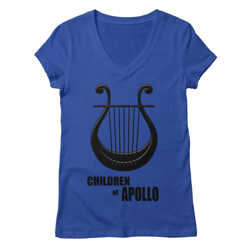 Apollonian Women's V-Neck by Wally's Shirt Shop