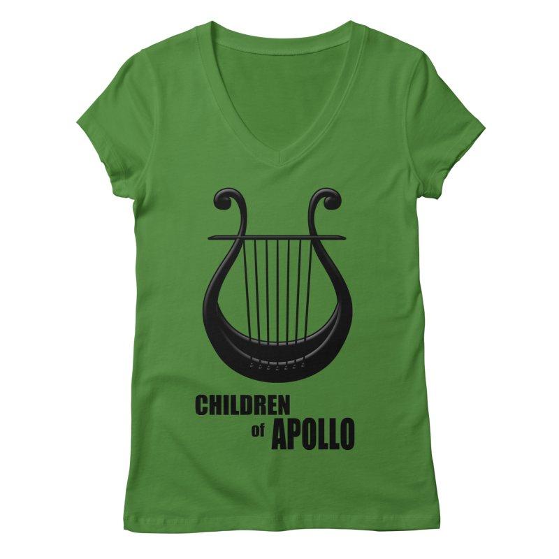 Apollonian Women's V-Neck by Wally's Shirt Shop