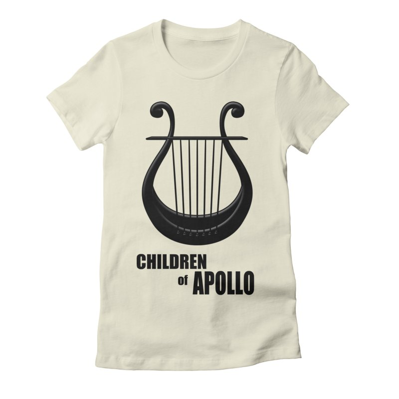Apollonian Women's Fitted T-Shirt by Wally's Shirt Shop