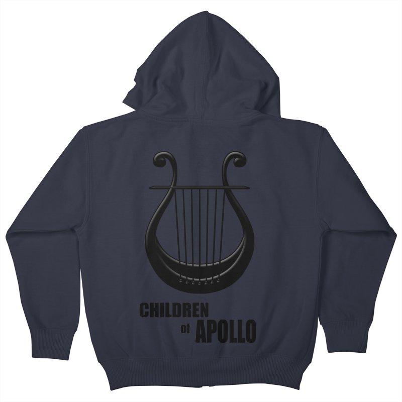 Apollonian Kids Zip-Up Hoody by Wally's Shirt Shop
