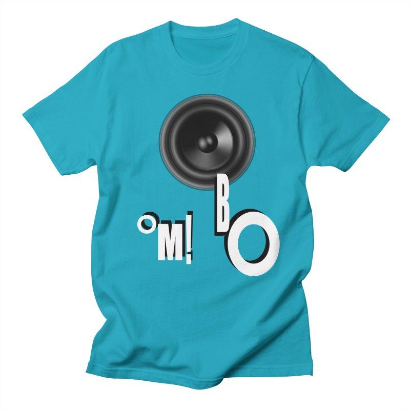 OM!BO Men's T-Shirt by Wally's Shirt Shop