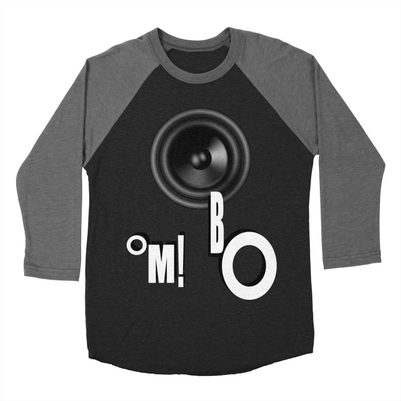 OM!BO Men's Baseball Triblend T-Shirt by Wally's Shirt Shop
