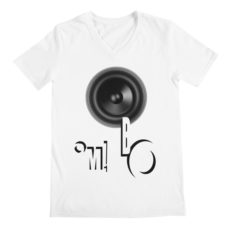 OM!BO Men's Regular V-Neck by Wally's Shirt Shop