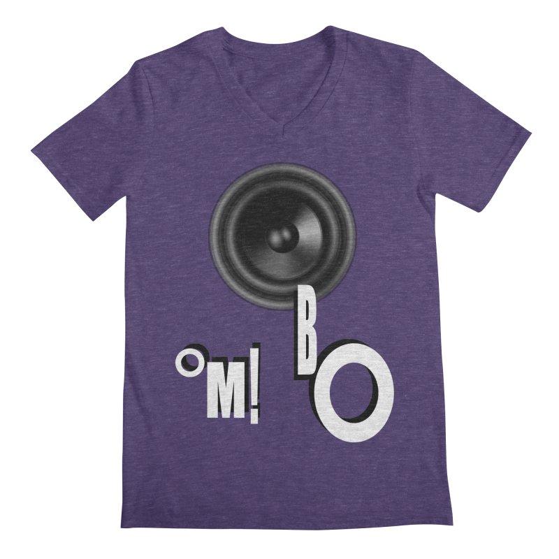 OM!BO Men's Regular V-Neck by Wally's Shirt Shop