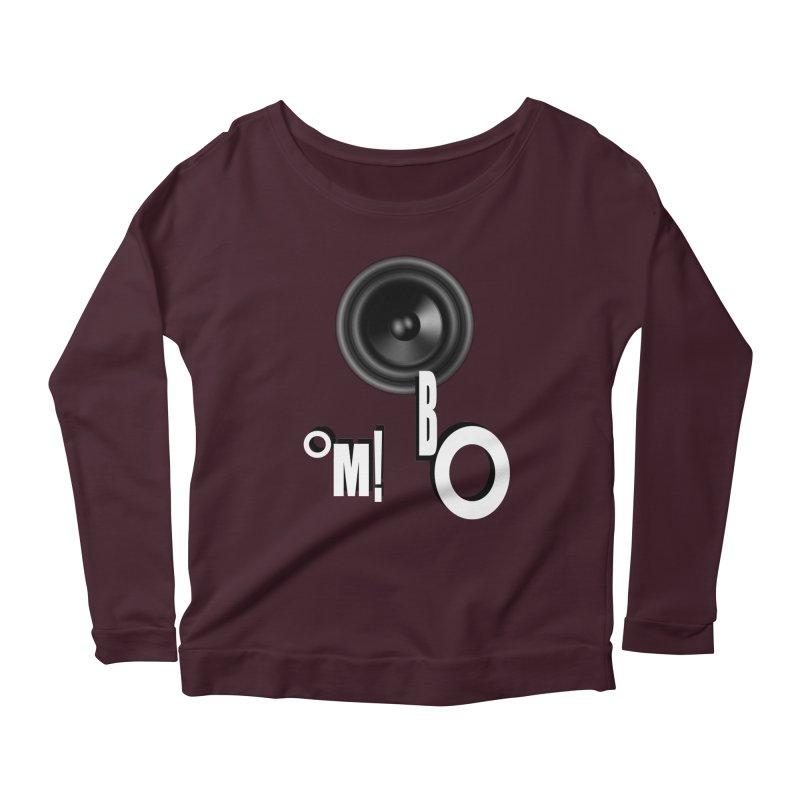 OM!BO Women's Scoop Neck Longsleeve T-Shirt by Wally's Shirt Shop