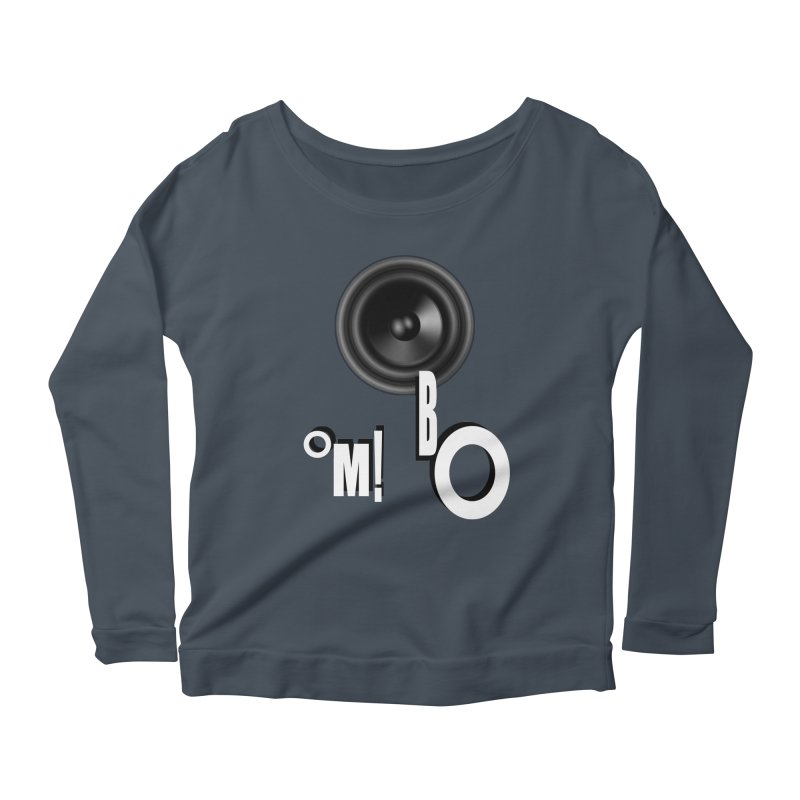 OM!BO Women's Scoop Neck Longsleeve T-Shirt by Wally's Shirt Shop