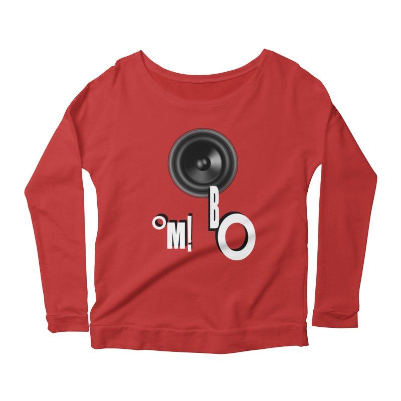 OM!BO Women's Longsleeve Scoopneck  by Wally's Shirt Shop