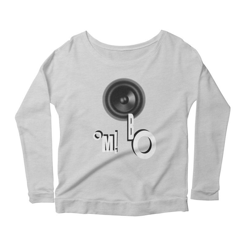 OM!BO Women's Longsleeve Scoopneck  by Wally's Shirt Shop