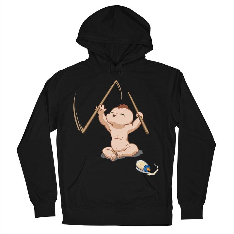Born Makin' Beats Women's Pullover Hoody by Wally's Shirt Shop