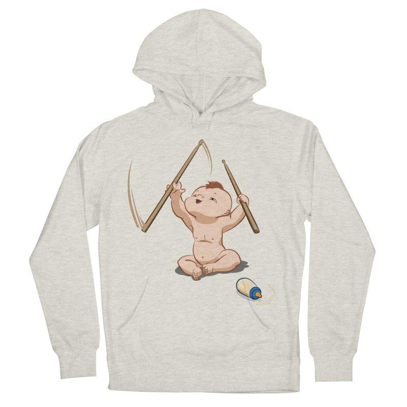 Born Makin' Beats Men's Pullover Hoody by Wally's Shirt Shop