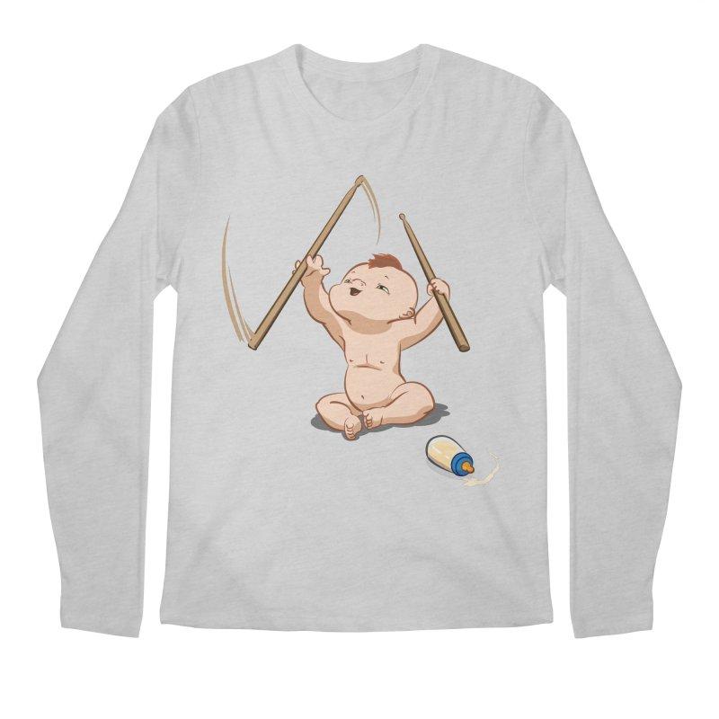 Born Makin' Beats Men's Regular Longsleeve T-Shirt by Wally's Shirt Shop
