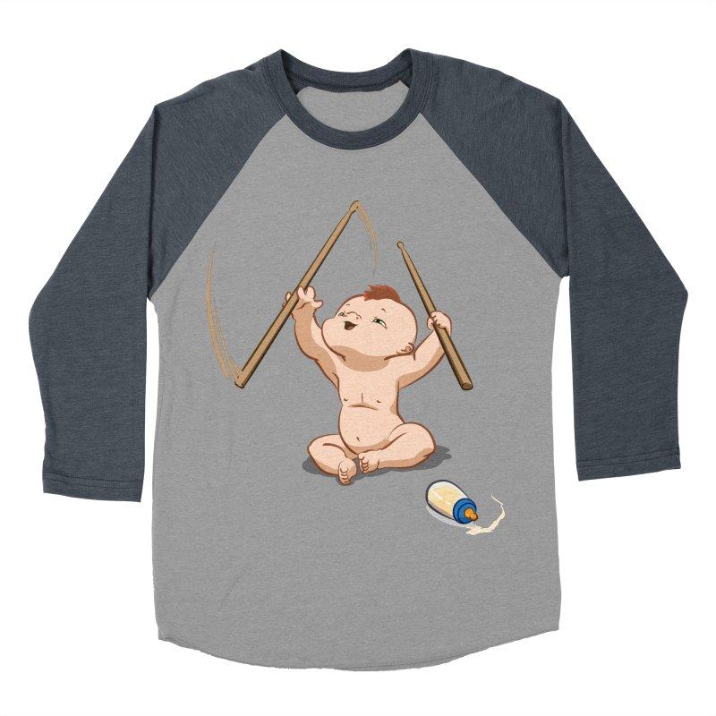 Born Makin' Beats Women's Baseball Triblend T-Shirt by Wally's Shirt Shop