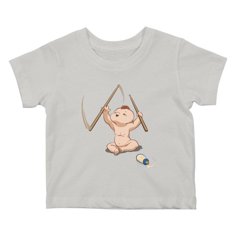 Born Makin' Beats Kids Baby T-Shirt by Wally's Shirt Shop