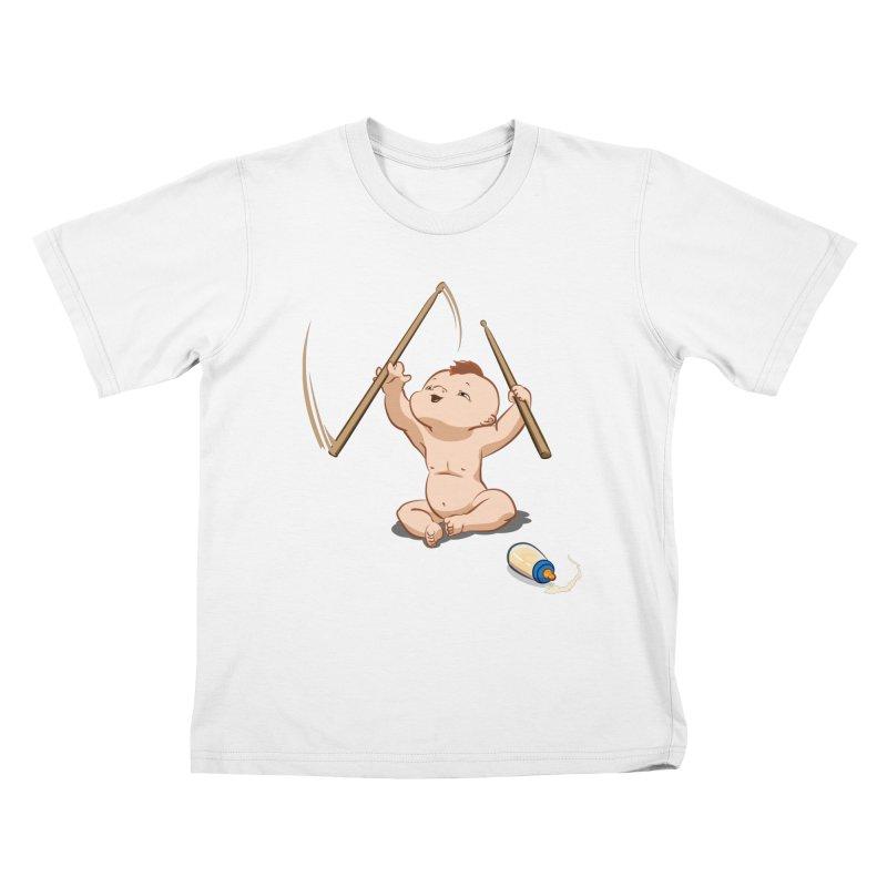 Born Makin' Beats Kids T-shirt by Wally's Shirt Shop