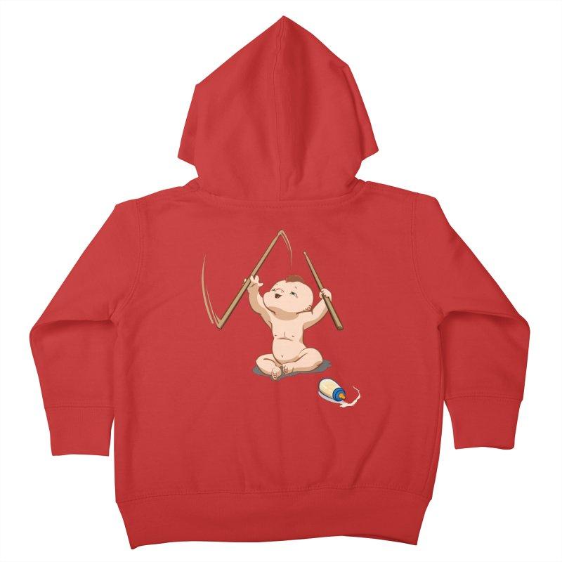 Born Makin' Beats Kids Toddler Zip-Up Hoody by Wally's Shirt Shop