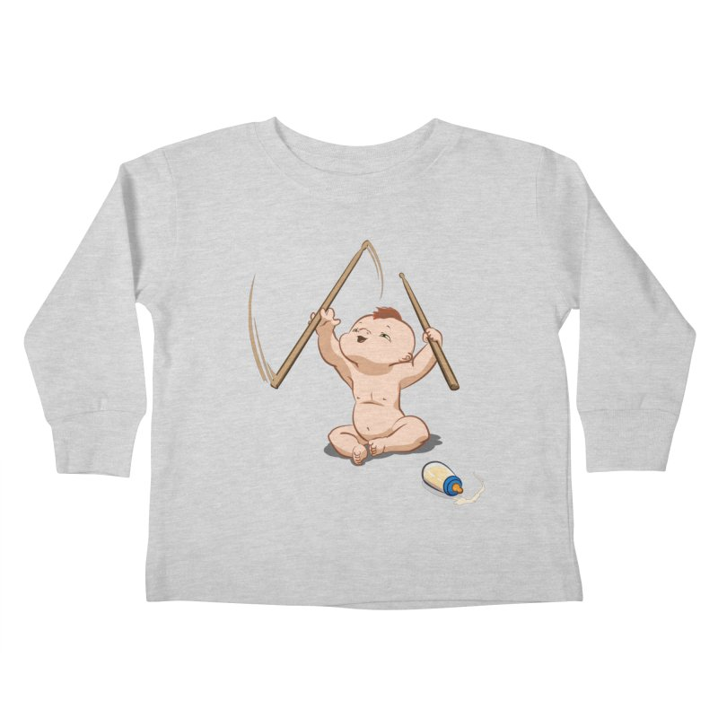 Born Makin' Beats Kids Toddler Longsleeve T-Shirt by Wally's Shirt Shop
