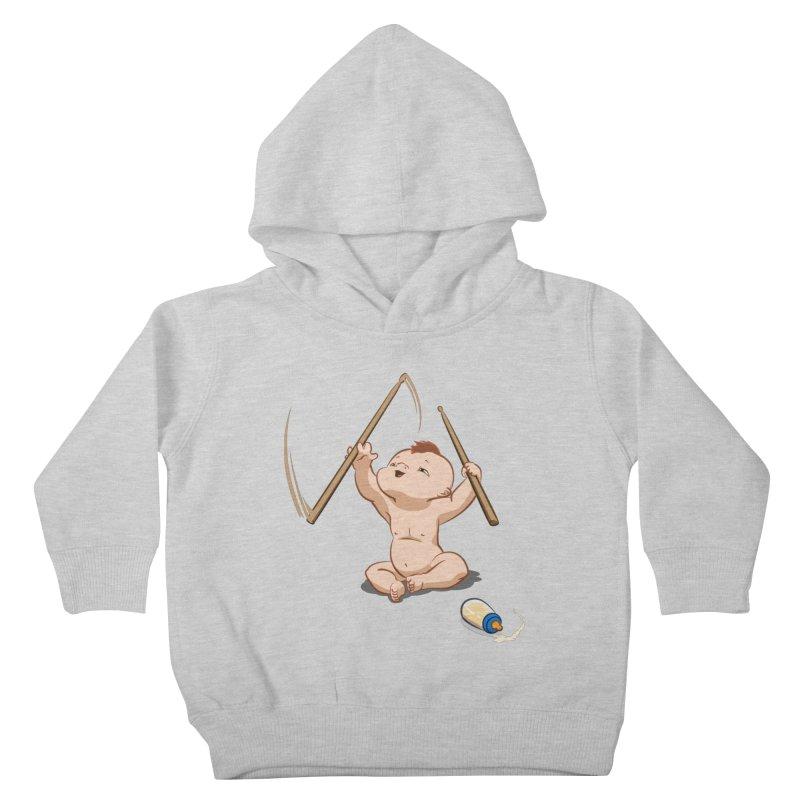 Born Makin' Beats Kids Toddler Pullover Hoody by Wally's Shirt Shop