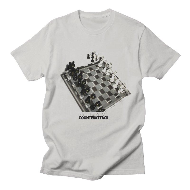 Preemptive Counterattack Men's T-Shirt by Wally's Shirt Shop