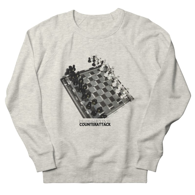 Preemptive Counterattack Men's Sweatshirt by Wally's Shirt Shop