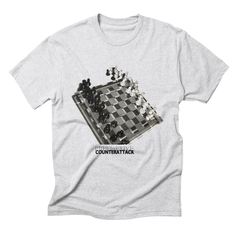 Preemptive Counterattack Men's Triblend T-Shirt by Wally's Shirt Shop