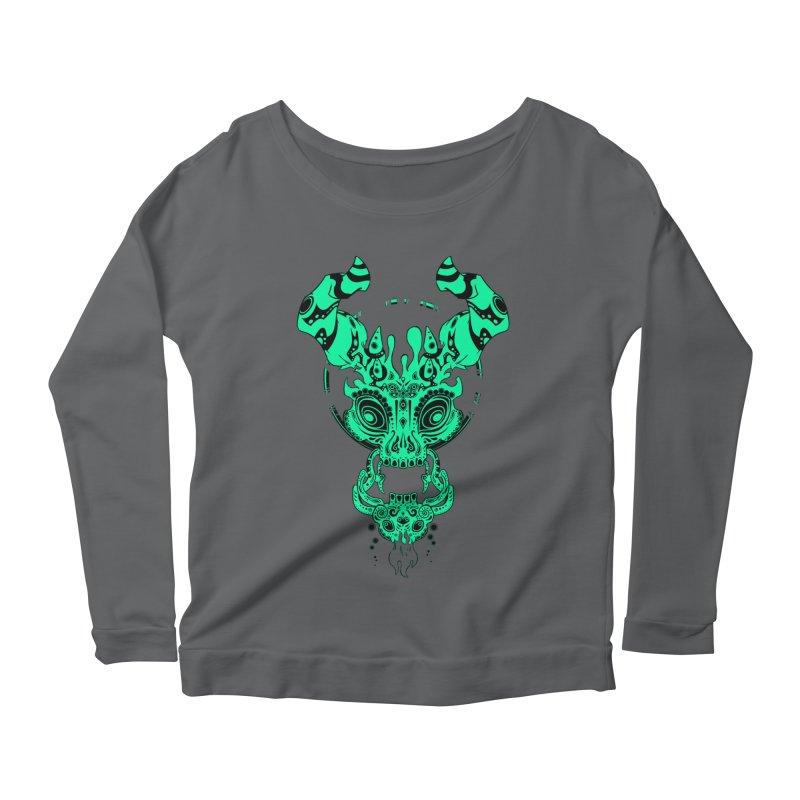 Puerta de la Muerte Women's Scoop Neck Longsleeve T-Shirt by Wally's Shirt Shop