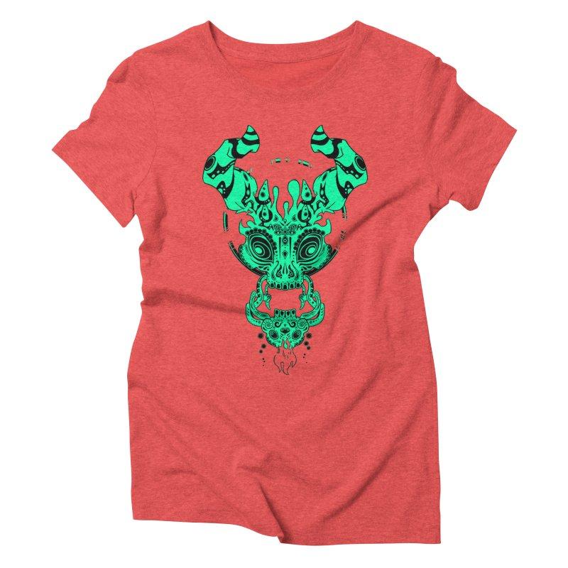 Puerta de la Muerte Women's Triblend T-shirt by Wally's Shirt Shop