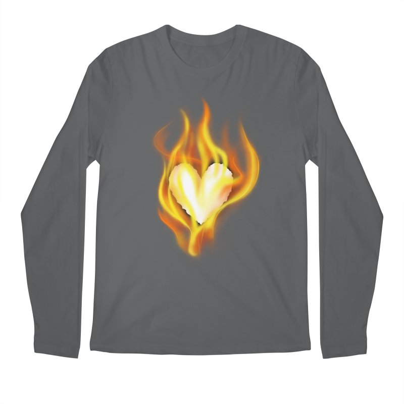Ignite Men's Longsleeve T-Shirt by Wally's Shirt Shop