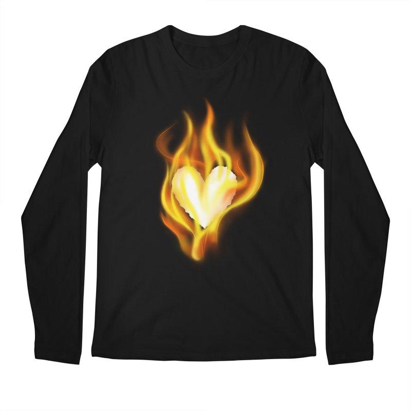 Ignite Men's Longsleeve T-Shirt by Wally's Shirt Shop