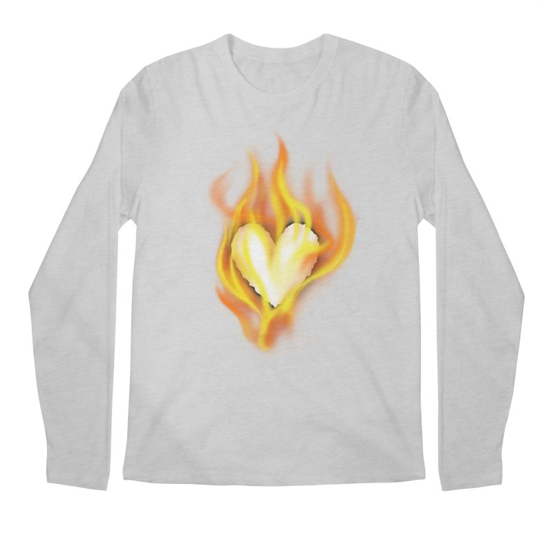 Ignite Men's Regular Longsleeve T-Shirt by Wally's Shirt Shop