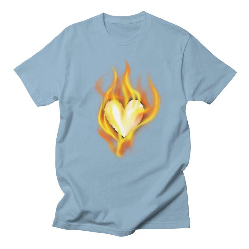 Ignite Men's T-shirt by Wally's Shirt Shop