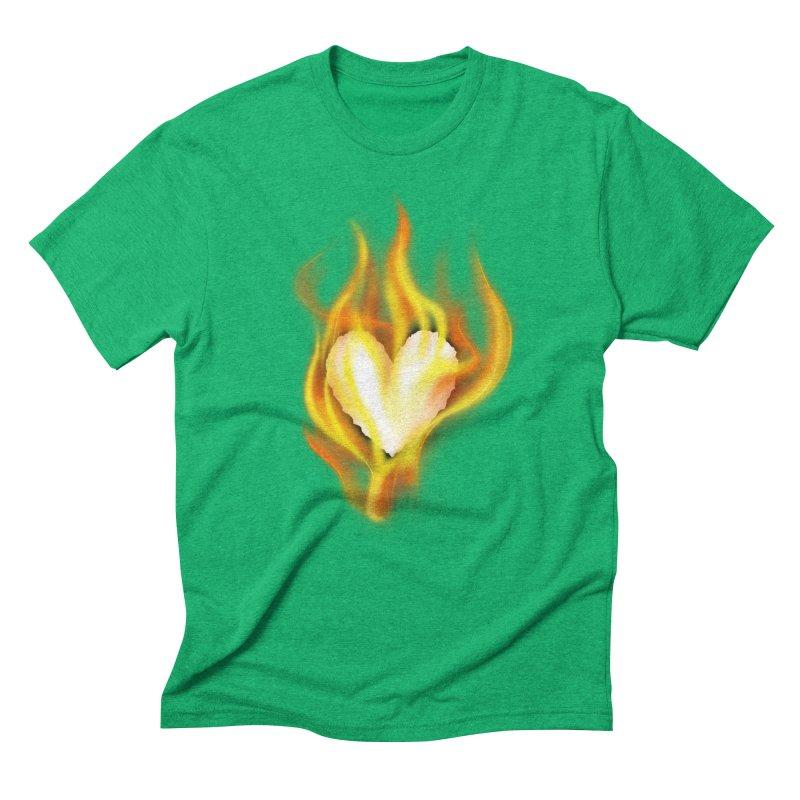 Ignite Men's Triblend T-Shirt by Wally's Shirt Shop